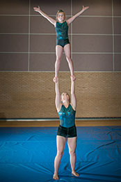 Monmouth Gymnastics Club – Performing Acrobatic Gymnastics