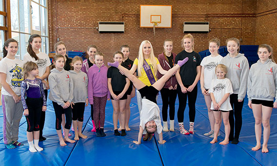 Sponsored Cartwheels for Mind Charity